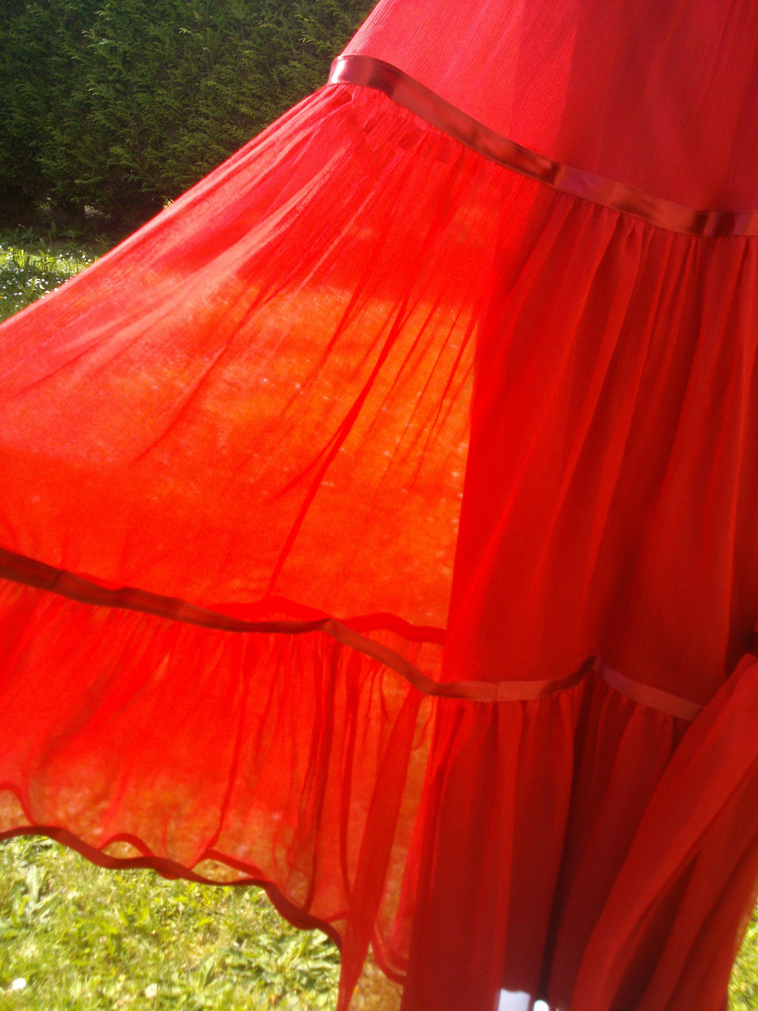 Country chic rouge | Didi Cutrufo Handmade Fashion
